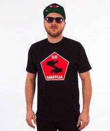 SB Maffija-Big Hands T-Shirt Czarny