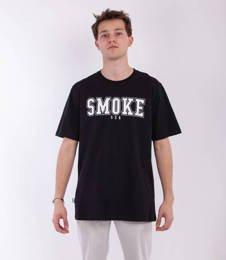 Smoke Story FRONT BACK T-Shirt Czarny