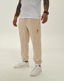 Smoke Story SSG CLASSIC NATURAL Spodnie Dresowe Slim Beżowy