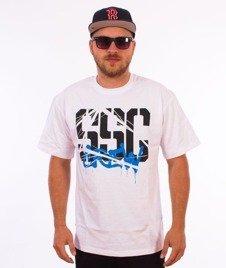 SmokeStory-Crew T-Shirt Biały