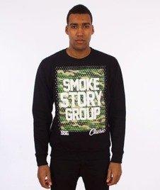 SmokeStory-Moro Dots Bluza Czarna