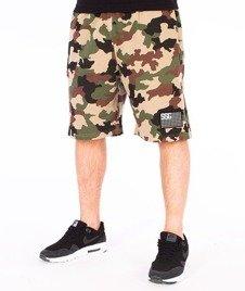 SmokeStory-Moro Flag Premium Krótkie Spodnie Dresowe Moro