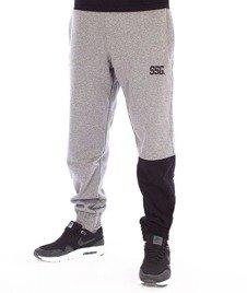 SmokeStory-One Side Jogger Spodnie Dresowe Ciemny Melanż