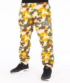 SmokeStory-Premium Moro  Flag Spodnie Dresowe Camo