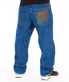 SmokeStory-SMG Regular Jeans Spodnie Light Blue
