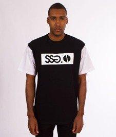 SmokeStory-Sleeve SSG Logo T-Shirt Czarny
