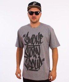 SmokeStory-Smoke Tag T-Shirt Szary