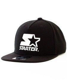 Starter-Crystal Wool Snapback Black