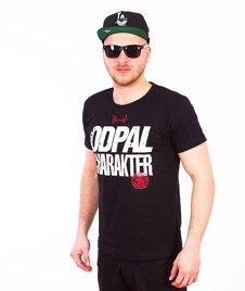 Stoprocent-Charakter T-Shirt Czarny
