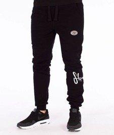 Stoprocent-Cowboy Legtag Spodnie Dresowe Czarne