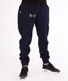 Stoprocent-SJJ Classic Spodnie Jogger Navy Blue