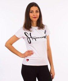 Stoprocent-TDS Tag17 T-Shirt Damski White