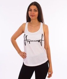 Stoprocent-Tank Top Tag White