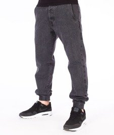 Turbokolor-Trainer Chino Spodnie Jogger Washed Black