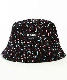 Wrung-Ink Bucket Hat Czarny